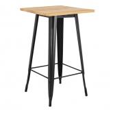 Table Haute LIX Vintage en Bois, image miniature 1