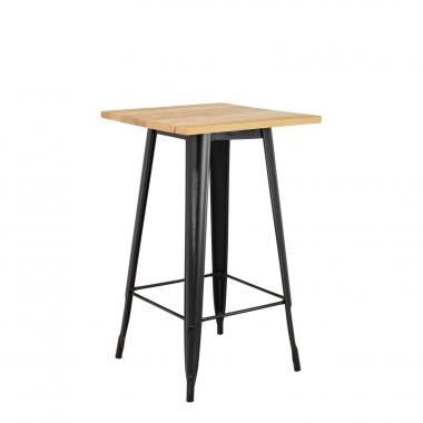 Table Haute LIX Vintage en Bois