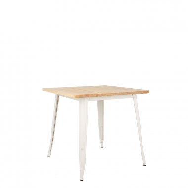 Table LIX Mate en Bois (80x80)