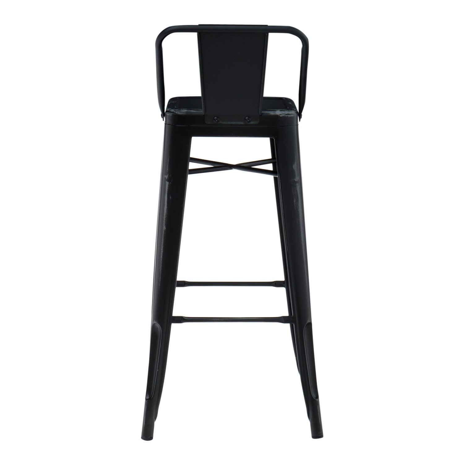 tabouret haut avec dossier lix vintage sklum. Black Bedroom Furniture Sets. Home Design Ideas