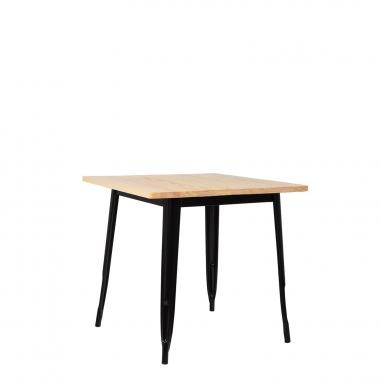 Table LIX en Bois (80x80)