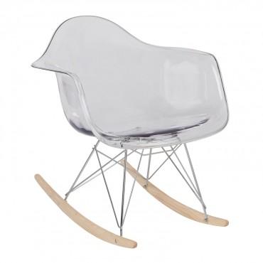 Chaise bascule ims transparente new supreme sklum france for Chaise a bascule transparente