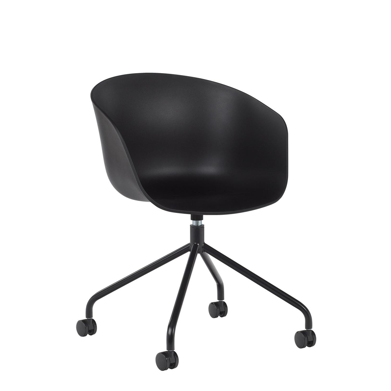 Chaise de Bureau à roulettes Yäh
