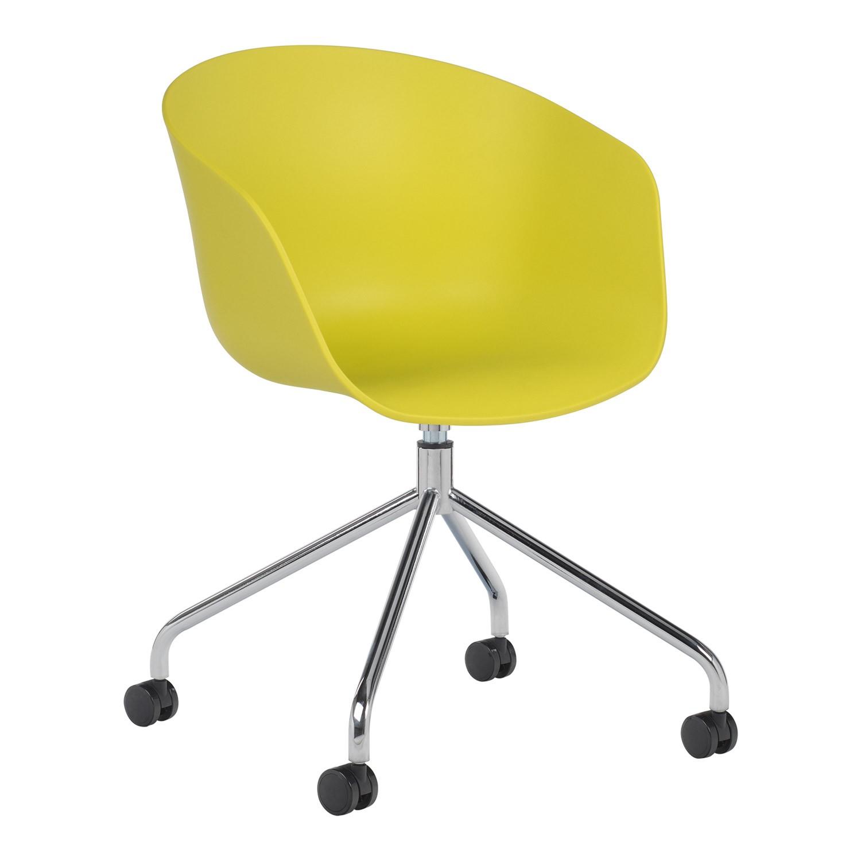 chaise roulettes y h m tallis e sklum france. Black Bedroom Furniture Sets. Home Design Ideas