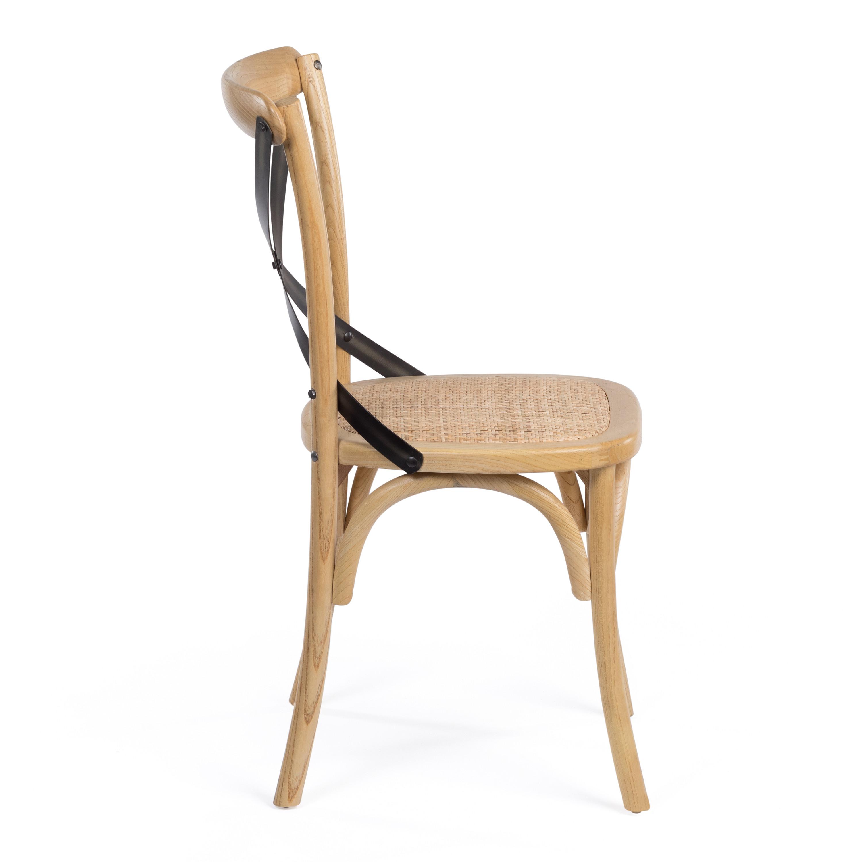 Comment Restaurer Une Chaise En Bois chaise otax bois - sklum