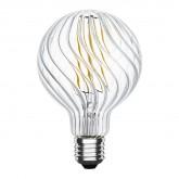 Ampoule LED E27 Dimmable Filament Verne 4W, image miniature 1