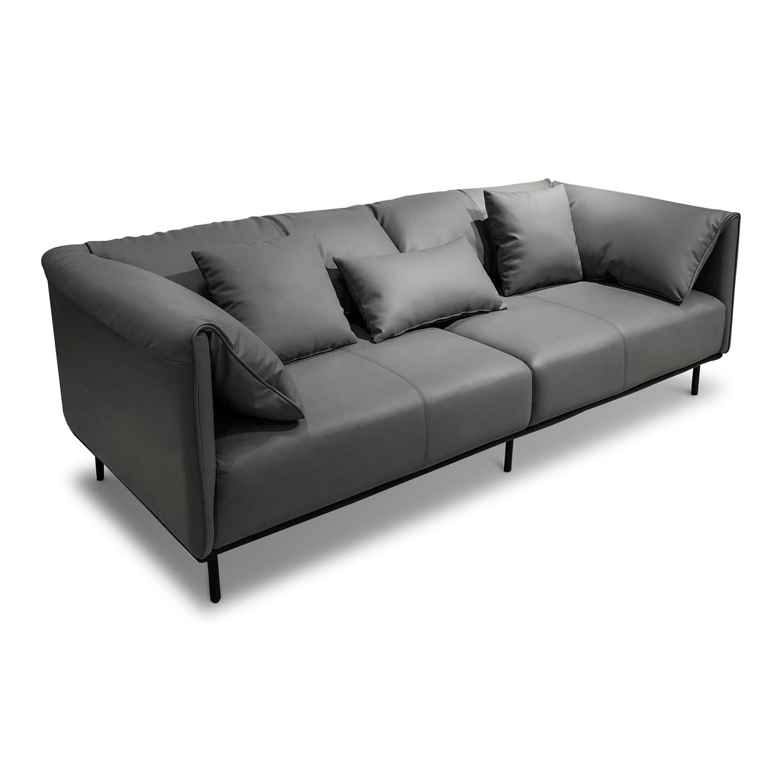 Changer La Couleur D Un Canapé En Cuir canapé 3 places en simili cuir kals - sklum