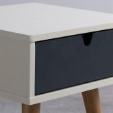 Table de chevet en Bois Abbir, image miniature 3