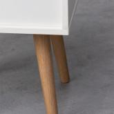 Table de chevet en Bois Abbir, image miniature 4