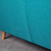 Sofá de 2 Plazas en Lino y Tela Aktic