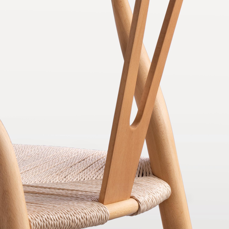 Comment Restaurer Une Chaise En Bois chaise uish bois edition - sklum