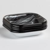 Pack de 4 Assiettes Carrées Mahr by Bornn, image miniature 1