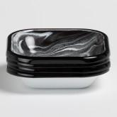 Pack de 4 Assiettes Carrées Mahr by Bornn, image miniature 2