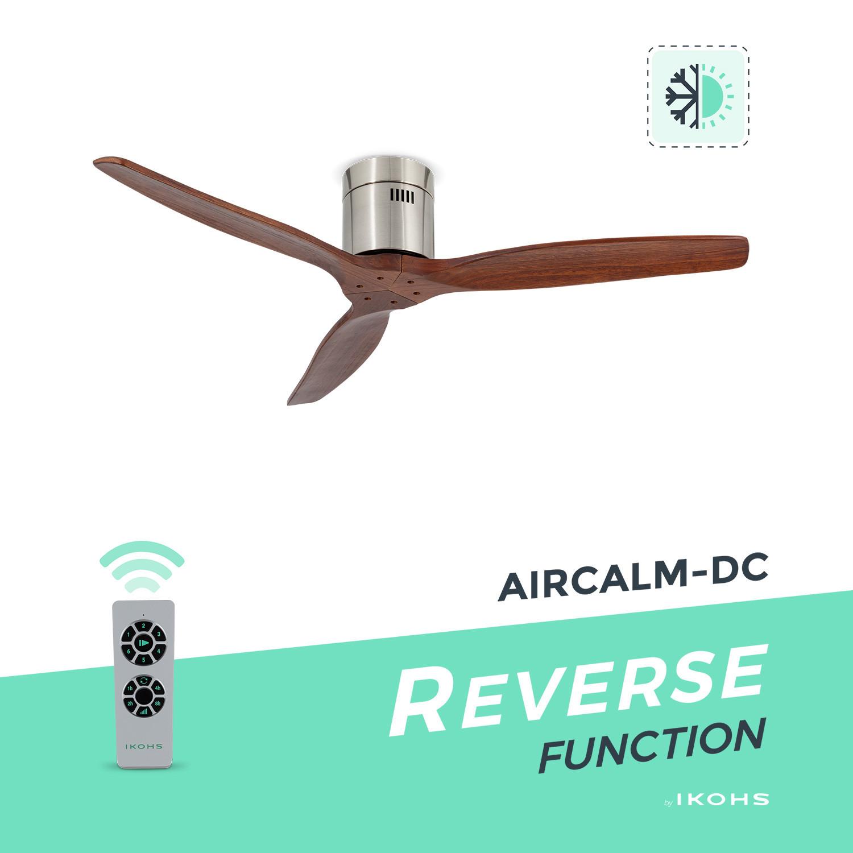 Aircalm Dc Ventilateur De Plafond Fonction Hiver Ete Ultra