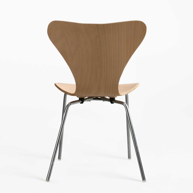 Comment Restaurer Une Chaise En Bois chaise uit bois naturel - sklum