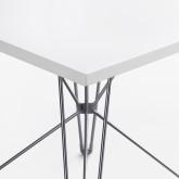 Mesa Cuadrada de Comedor MDF (100x100 cm) Scand Brich Edition
