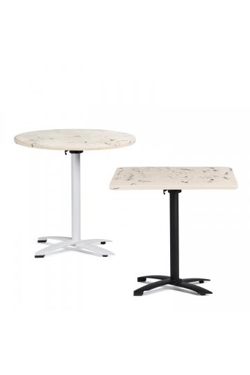 Table de bar en ciment fini marbre Bruh