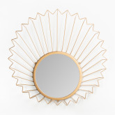 Miroir mural en métal (61,5x61 cm) Bïggy, image miniature 3