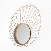Miroir mural en métal (61,5x61 cm) Bïggy, image miniature 2