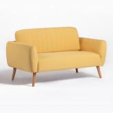 Sofá de 2 plazas en Tela Tysen