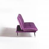 Canapé-lit 3 places en velours Thogy, image miniature 2
