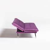 Canapé-lit 3 places en velours Thogy, image miniature 3