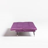Canapé-lit 3 places en velours Thogy, image miniature 4