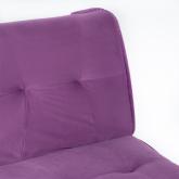 Canapé-lit 3 places en velours Thogy, image miniature 5