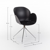 Chaise de Bureau avec Accoudoirs Tech, image miniature 5