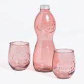 Ensemble de table en verre recyclé Kasster, image miniature 2