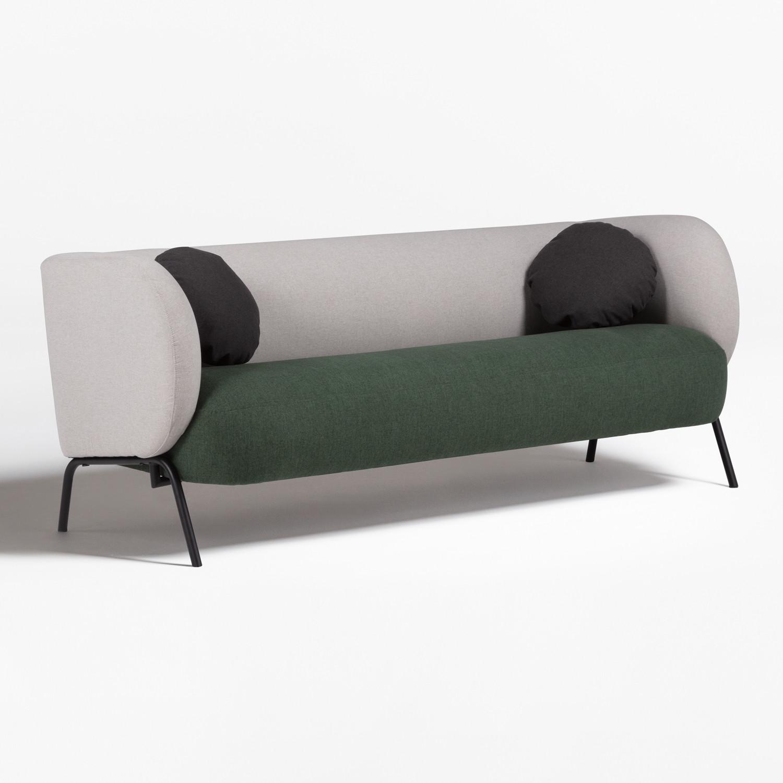 Canapé 3 Places en Tissu Liteh, image de la galerie 1