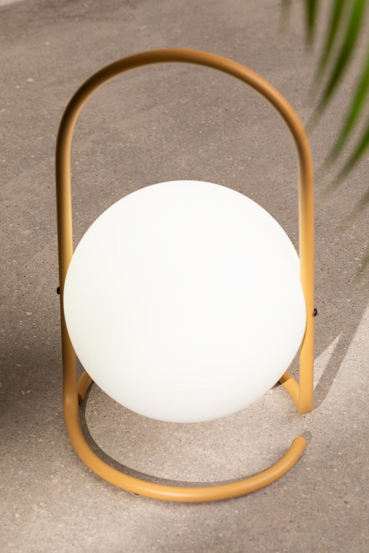 Lampe de table LED d'extérieur Balum, image de la galerie 1
