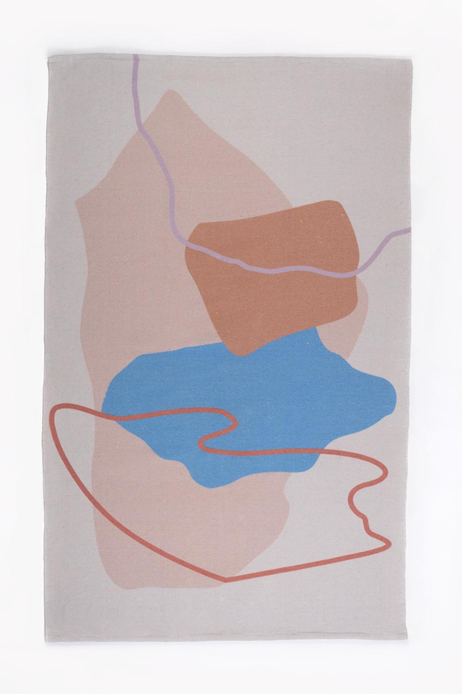 Tapis en coton (190x120 cm) Kandi, image de la galerie 1
