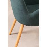 Chaise de salle à manger en bois de caoutchouc Azra, image miniature 5