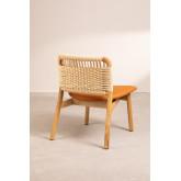 Chaise en bois Rome, image miniature 4