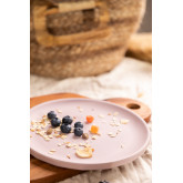 Pack d'assiettes plates en bambou Scott de 4, image miniature 1