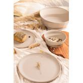 Pack de 4 petites assiettes en bambou Scott, image miniature 1