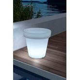Macetero/Cubitera  LED RGBW  Rechargeable