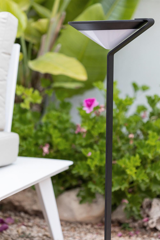 Balise LED solaire extérieure Aizah, image de la galerie 1
