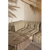 Coussin de canapé modulable en coton Dhel Boho, image miniature 6