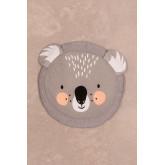 Tapis rond en coton (Ø90 cm) Jef Kids, image miniature 2