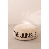 Pouf en coton pour enfants Jungle, image miniature 4