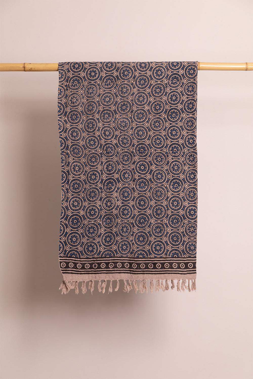 Couverture à carreaux en coton Jopi, image de la galerie 1