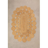 Tapis de jute ovale (178x120 cm) Dantum, image miniature 1