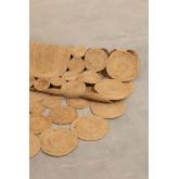 Tapis de jute ovale (178x120 cm) Dantum, image miniature 2