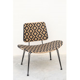 Chaise longue de jardin en osier synthétique Corvik, image miniature 2