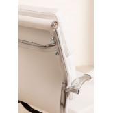 Chaise de bureau métallique à roulettes Fhöt, image miniature 6