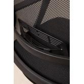 Chaise de Bureau avec Accoudoirs et Roulettes Teill Black, image miniature 6