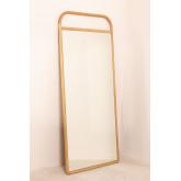 Miroir sur pied en bois (180x80 cm) Dani , image miniature 3