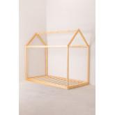 Lit en bois pour matelas 90 cm Obbit Kids, image miniature 2